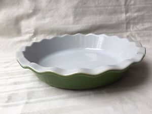Image is loading Emile-Henry-Deep-Pie-Quiche-Dish-Ruffled-9- & Emile Henry Deep Pie Quiche Dish Ruffled 9