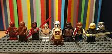 lego star wars mini figures very rare chrome darth vader