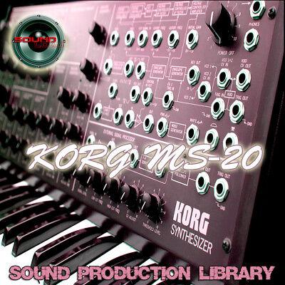 KORG MS20 - HUGE Original Samples Library in WAVE/Kontakt
