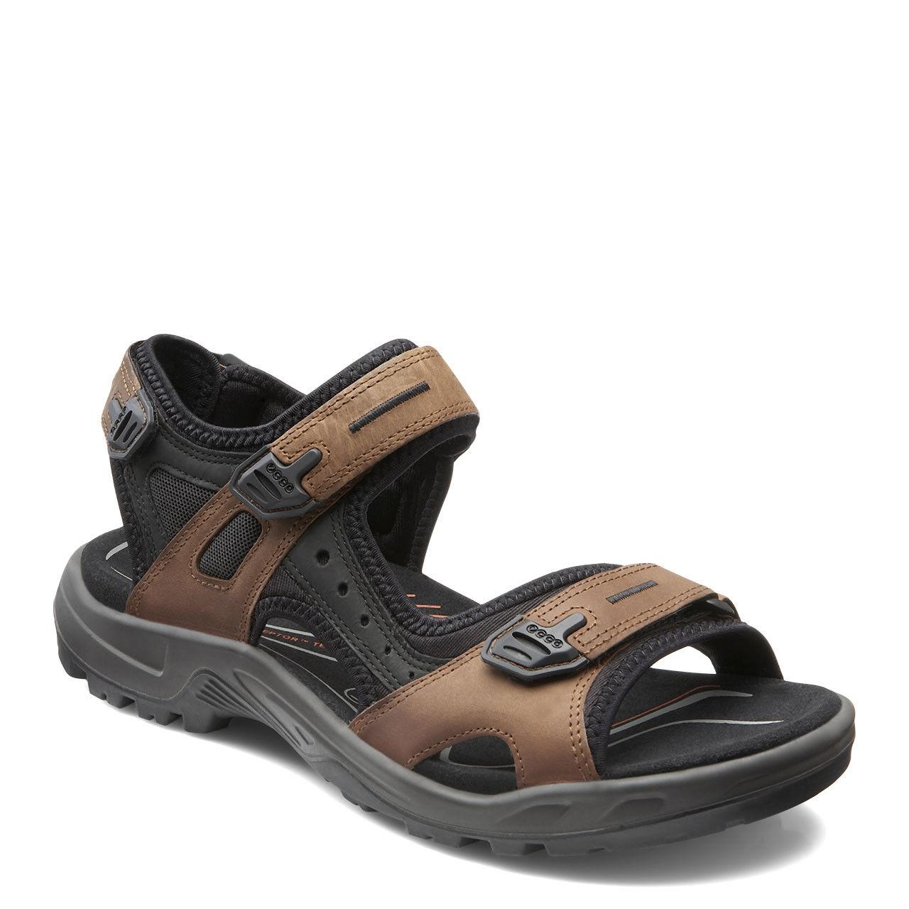 Eco Yucatan Mens Euro Dimensione  47 Bison Marronee Nubuck Trail Sport Sandals US 13  13.5  risparmia il 35% - 70% di sconto