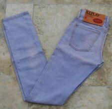 "Replay Womens Jeans 25"" x 32"" - 34"" BNWT Streaked Elastic Skinny 6-8 S WV591.000"