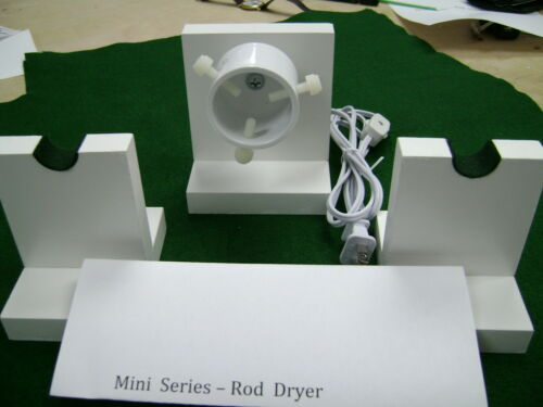 Mini-Mid Size Series 17-19  RPM-ROD DRYING MOTOR  KIT with 2 rod stands