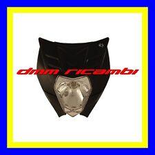 Portafaro ONE Felix Omologato Moto Cross Enduro Motard faro naked KTM Style Nero