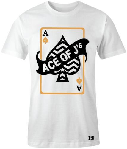 "/""Ace Of J/'s/"" T-shirt to Match Retro 4 /""ROYALTY/"" Metallic"