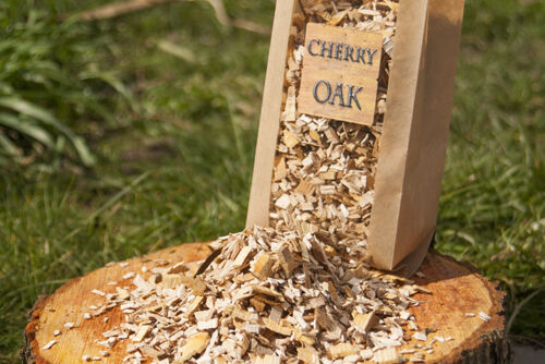 CHERRY OAK BBQ Smoking Wood Chips MIX,5L SPRING OFFER BUY 2 GET 3 SUPERIOR WOODS