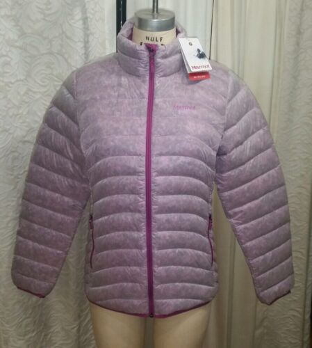 Women's Marmot Purple Jacket 78100 Orchid 550 Down Puffer Medium Nika 175 Coat gfFgR