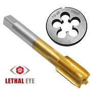 1/2-28 Tap And Die Set Tin Coated Tap Rh Thread ==lifetime Warranty==302