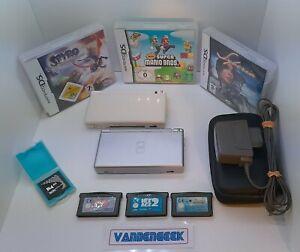 Lot Nintendo Ds Lite + Jeux ds et gba