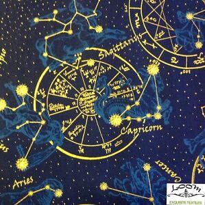 Rpb293a celestial astrology star sign zodiac sun moon for Space is not fabric
