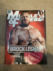Muscle & Fitness Magazine May 2011 Brock Lesnar   eBay