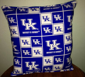 University-Kentucky-Pillow-Football-Pillow-UK-Pillow-NCAA-HANDMADE-In-USA