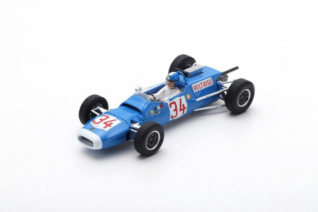 Spark S7180 - MATRA MS5 N°34 Vainqueur GP Allemagne F2 1966 Beltoise 1/43