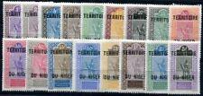 NIGER 1921 Yvert 1-17 * TADELLOS SATZ (F3777