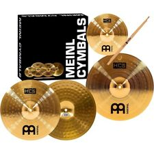 Meinl HCS Cymbal Pack With Splash Sticks and Lessons