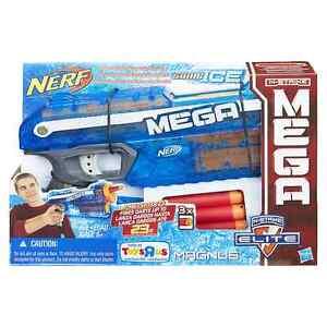 0e299ea5e1d Brand New NERF N-Strike Elite MEGA MAGNUS Dart BLASTER Sonic Ice ...