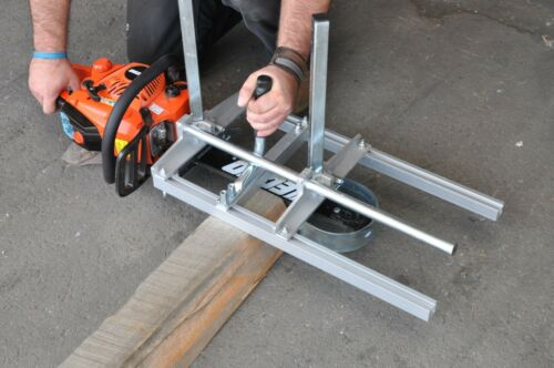 """Clamp on your Saw /& Make Lumber! Portable /& Collapsible 24/"""" Chain Saw Mill"""