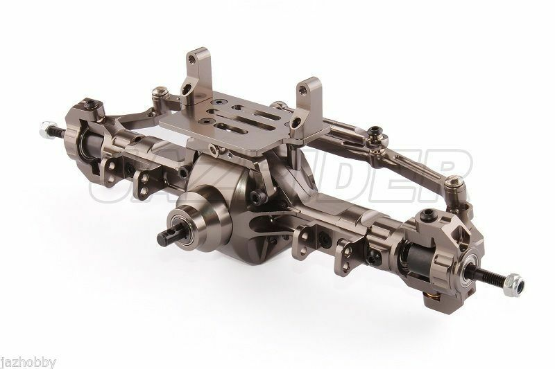 Jazrider Aluminum Complete Assembled Front Axle Steering For Axial SCX10 Chassis