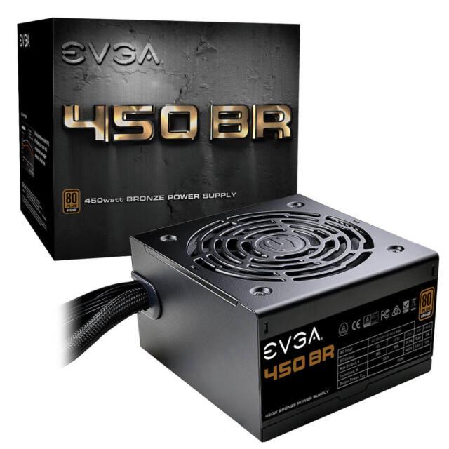 EVGA 450 BR, 80+ BRONZE 450W, 3 Year Warranty, Power Supply