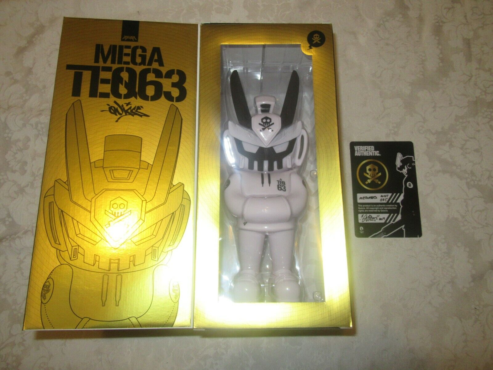 Martian Toys Five Points Fest Festival Mega Quiccs Teq63 12  Core Edition Weiß