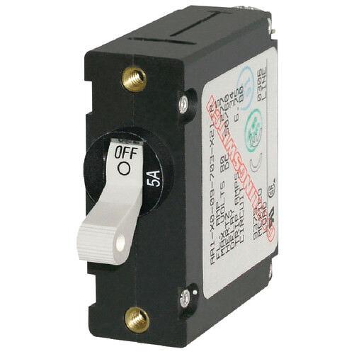 Blue Sea Boat//RV 7206 A-Series Single Pole AC//DC Toggle Circuit Breaker 10 AMP