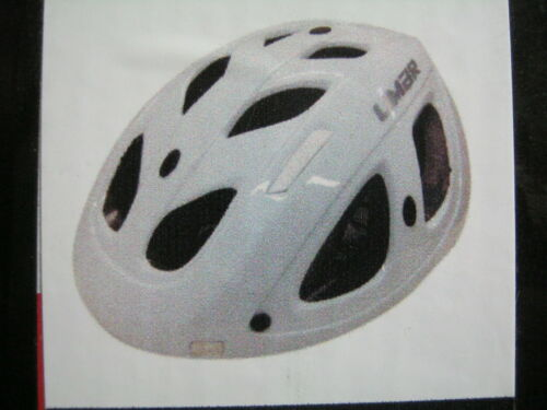 Limar VELOV Free Ride Urban Road Cycle Bike Helmet White Medium 52cms 57cms