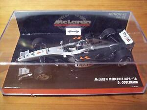 1/43 Mclaren 2001 Mp4/16 Mercedes David Coulthard-afficher Le Titre D'origine Rendre Les Choses Commodes Pour Le Peuple