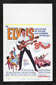 Image Is Loading SPINOUT CineMasterpieces ORIGINAL WC MOVIE POSTER ELVIS PRESLEY