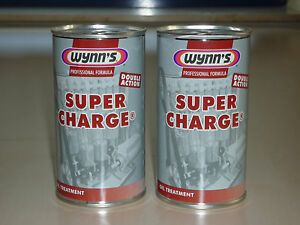 wynns super charge lverbrauchs additiv 2 x 325 ml ebay. Black Bedroom Furniture Sets. Home Design Ideas