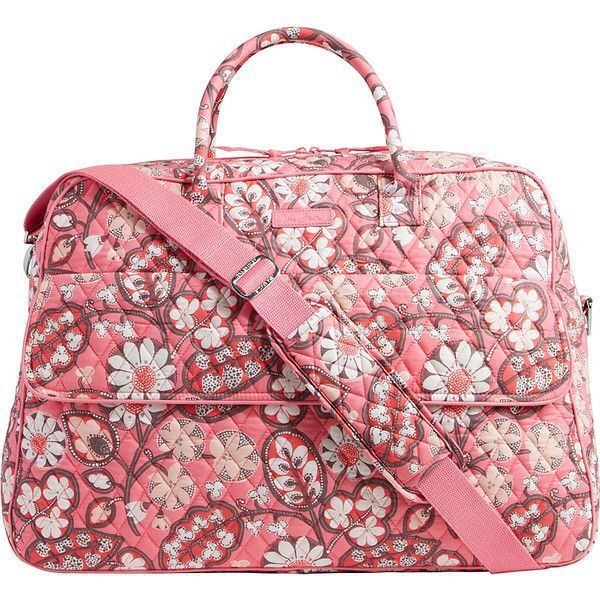 a96616adfaa9 Vera Bradley Grand Traveler Travel Carry on Bag in Blush Pink for sale  online