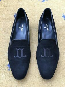New-John-Lobb-Mens-Shoes-Suede-Loafer-UK-5-5-US-6-5-EU-39-5-Lord-Slipper-Unisex