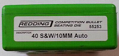 REDDING 40 S/&W//10mm Auto Competition Handgun Seating Die 55253