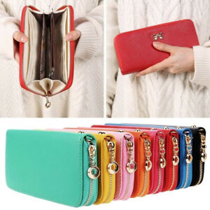 Fashion Lady Women Leather Clutch Wallet Long Card Holder Case Purse ... 9a7c70f461