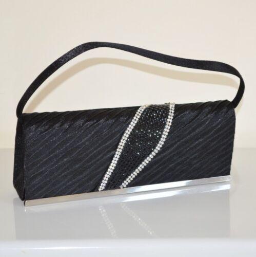 Pochette Strass Noire Bolsa X Femme Cérémonie De Robe 100 Pochette Soirée Cristaux OrO7qSFwR