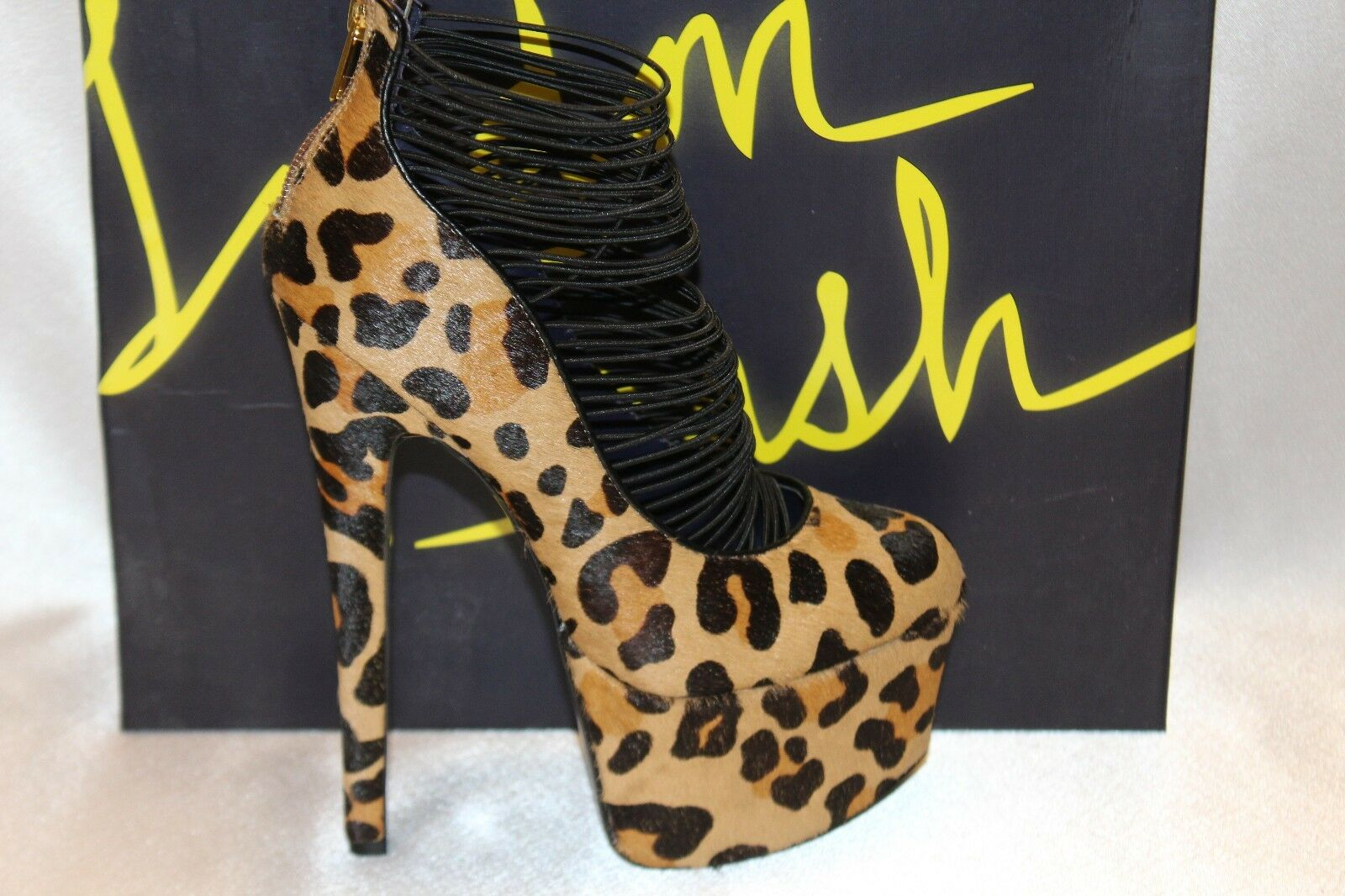 NEW  LONDON TRASH Leopard Calf Hair Ceres Platform Stiletto 8 Pump Sz 6 8 Stiletto 149 9ca4d9