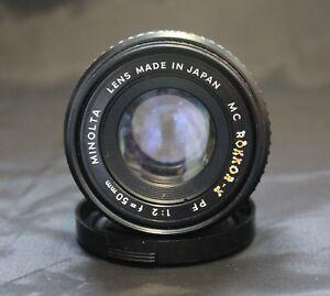 Minolta-MC-Rokkor-X-PF-1-2-f-50-mm-mount-lenses