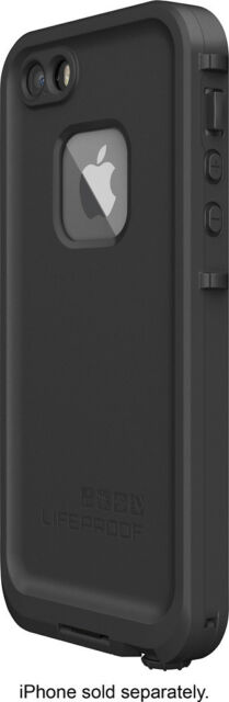 LifeProof - FrProtective Case for Apple iPhone 5, 5s and SE - Black