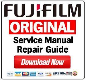 fujifilm finxepix fuji digital camera service manual and repair rh ebay com Auto Repair Manual Service Station
