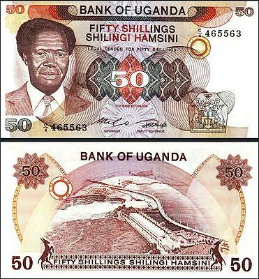 UGANDA 100 SHILLINGS 1988 UNC CONSECUTIVE 20 PCS LOT P 31b