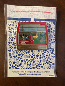 Details about Disney Pin Trading WDW Transport Skyliner Mickey Mouse Minnie Gondola 3D Pin