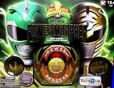 Mighty Morphin Power Rangers Legacy Power Morpher Green White Edition New Bandai