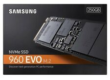 Samsung 960 Evo 250GB NVMe M.2 PCI-Express 3.0 2280 x4 Internal SSD MZ-V6E250BW