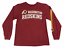thumbnail 1 - NFL Boys Washington Redskins Crew Neck Long Sleeve Red T Shirt Size Medium