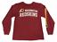 thumbnail 1 - NFL-Boys-Washington-Redskins-Crew-Neck-Long-Sleeve-Red-T-Shirt-Size-Medium