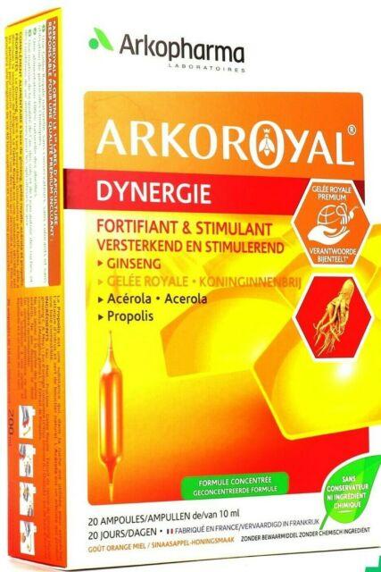 Arkopharma Arkoroyal Energing Complex Ginseng Royal Jelly Acerola Propolis For Sale Online Ebay