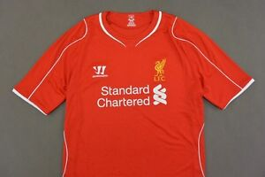 c8dec8a89 The Reds Warrior Liverpool Fc - Home Shirt 2014-15 SIZE 2XL XXL ...