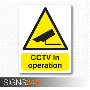 CCTV-STICKERS-CCTV-In-Operation-Self-Adhesive-Vinyl-Sticker-100mm-x-130mm