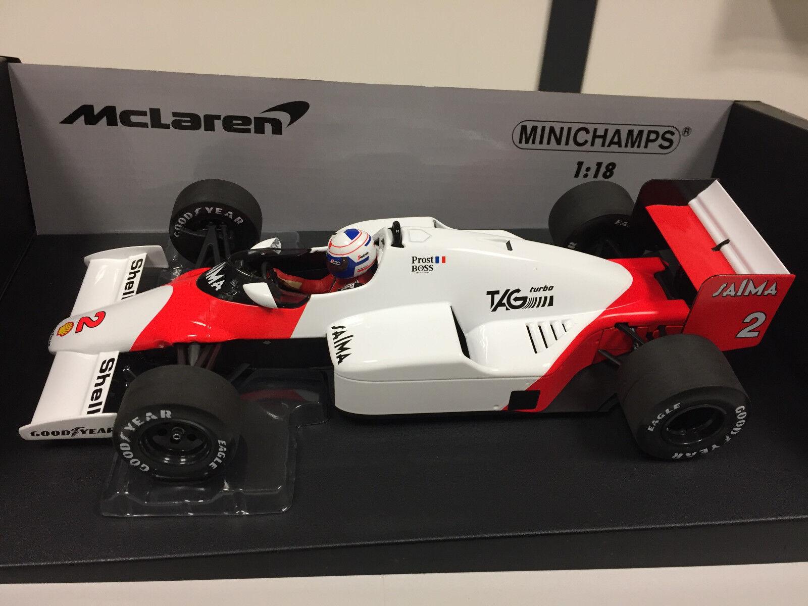 Minichamps F1 Wc Mclaren Mp4 2b A. Prost 1985 1 18 530851802 2