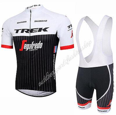 2017 HOT New Mens Sports Bike Cycling Jersey Bib Shorts Suits Bicycle Clothing