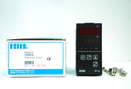 Alarm 1pc Fotek MT-20V 48x96mm Temperature Controller K//J//Pt PID V pulse out