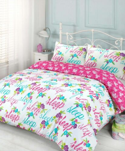 Duvet Cover Sets King Size Double Single Super King With Pillow Cases Bedding